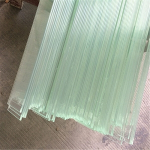 CE & SGCC certificate impact-resistant heat soak tested 12.76mm low iron ultra clear EVA PVB SGP ESG VSG tempered laminated glass