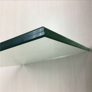 China 12.76mm clear toughened laminated glass,662 hardened laminated glass manufacturer
