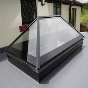 China CE certification energy saving sun roof window skylight glass manufacturer