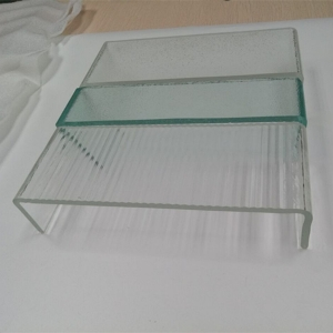 China U-glass factory made safe property U channel decorative glass