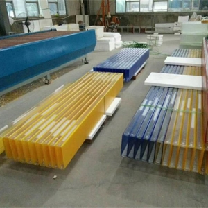 China colorful U-shaped glass manufacturer, Color u channel glass factory, Color U-profile glass Exporter