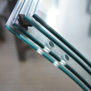 China curved tempered glass supplier,China safety curved glass price,curved glass for shower screen