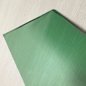 China factory directly export 5.5mm dark green tinted float glass