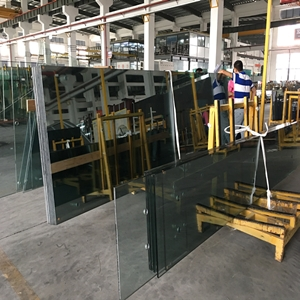 China factory spider glass facade system, stainless steel glass spider, toughened laminated glass facade for sale