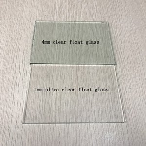 China Factory Supply Low Iron 4mm Ultra Clear Float Gl