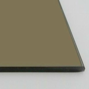 China float glass supplier reasonable price 5.5mm euro bronze tinted float glass
