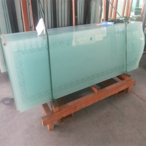 8mm Acid Etching Glass Supplier China Acid Etched Glass