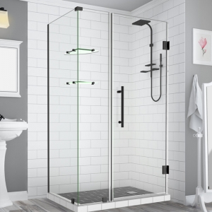China high quality frameless glass shower enclosure hardwareshower door hinges glass and bathroom door clamps