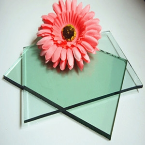 China manufacturer 5mm F-green float glass,5mm light green tinted glass factory
