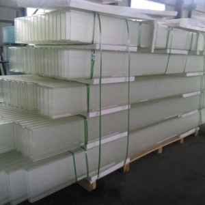 Custom-made high-transparent 10mm low iron U channel glass prices