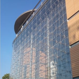 Customized impact-resistant safety laminated glass curtain wall facade China suppliers