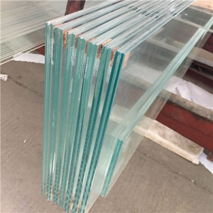 Cut to size ultra clear 553 thick low iron safety tempered laminated glass