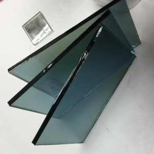 Decorative glass 5mm ford blue tinted reflective coated glass suppliers