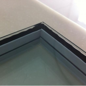 Energy efficient black warm edge spacer double triple insulating glazing unit manufacturer china