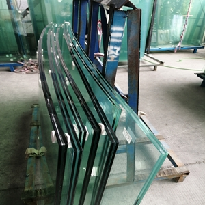 Excellent performance factory safety 6+6mm heat strengthened laminated TVG VSG glass suppliers