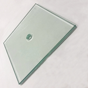Factory manufacture buildings tempered laminated glass customized size in China