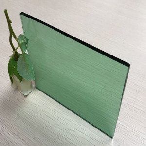 Factory price 6mm dark green color tinted float glass sheet