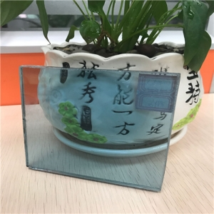 Factory price 8.38mm Ford blue color laminated float glass panel