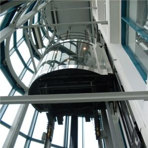 Factory price high security laminated glass elevator supplier China