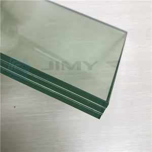 Factory supplying 8+8+8mm triple tempered laminated bulletproof glass price