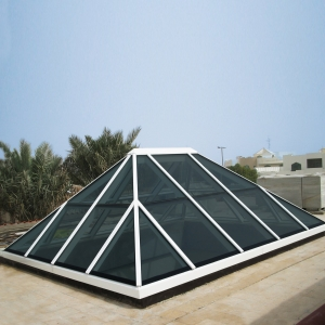 Full solution of glass dome roof, glass canopy, Stainless steel Frame Skylight with Glass