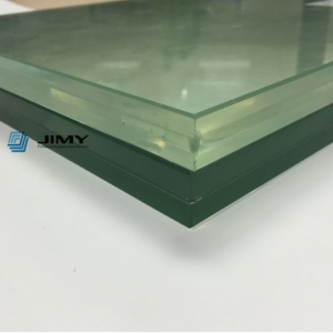 Good price 15mm+1.52mm PVB SGP interlayer+ 15mm tempered laminated safety glass manufacturer China