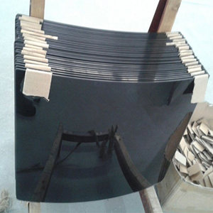 Grey,bronze,blue,green color tempered curved glass,tinted bending glass manufacturer