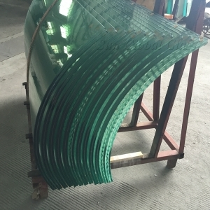 High quality 10mm tempered curved glass supplier, safety tempered curved glass factory China, 10mm curved ESG glass producer manufacturers