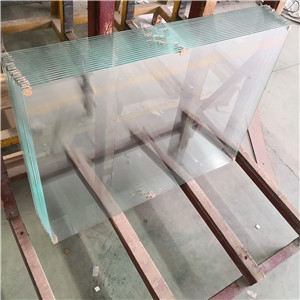 High quality 12mm ultra clear tempered glass, 1/2 low iron tempered glass manufacturer