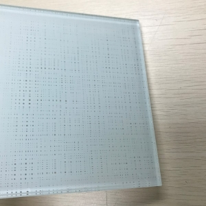 High quality 4+4mm PVB decoration laminated fabric glass manufacturers