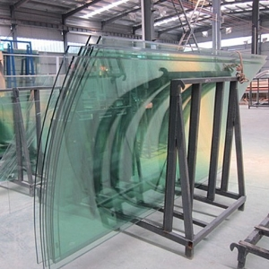 High quality U shape 15mm curved tempered glass cut to size from China manufacturers