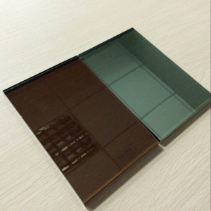 High quality good price 4mm bronze reflective glass China manufacturer