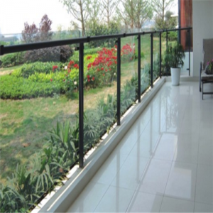 High security 15mm toughened glass balustrade supplier in China