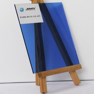 Hot sale 4-10mm dark blue tinted glass manufacturer, high quality blue tinted glass distributor