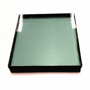 Hurricane proof impact resistant 12+16A+13.52mm SGP laminated insulated glass