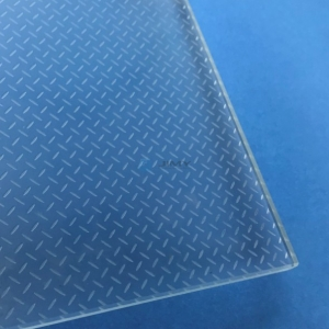 Indoor and outdoor slip resistance glass ultra clear safety tempered laminated glass stair treads