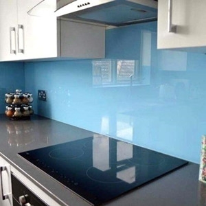 Kitchen splash back lacquered safety toughened glass,color painted tempered glass manufacturer