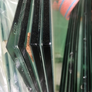 Laminated Security Glazing heat soaked toughened laminated glass supplier