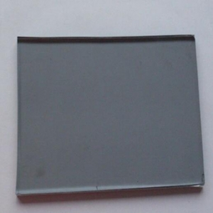 Low price China factory 4mm euro grey tinted float glass for window