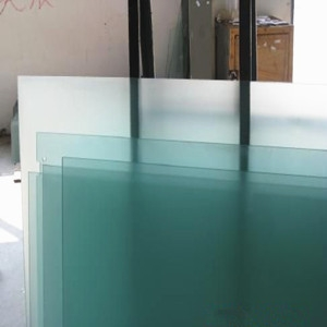 Privacy protection 10mm tempered frosted glass for shower room