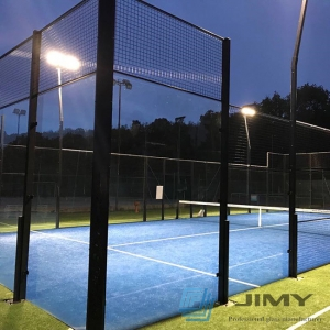 Professional manufacturer for glass padel court, 13.52mm tempered laminated padel glass, 10mm 12mm clear tempered glass tennis padel price