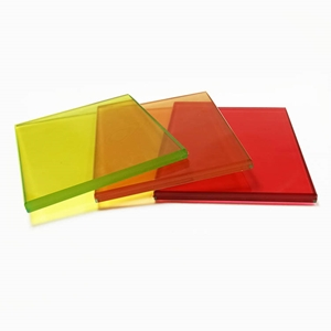 SGCC CE certified tempered colored EVA laminated glass China supplier