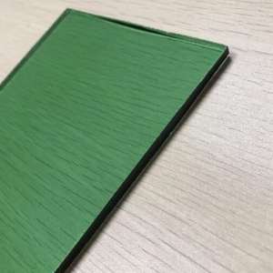 Stock available 4mm dark green color tinted float glass suppliers China