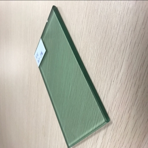 Wholesale decorative 553 F-green tempered laminated glass factory