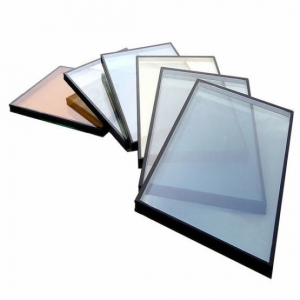 cheap price reflective insulated glass supplier, China color double glazing units