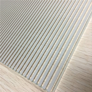 silk screen printing glass factory China,linear pattern white color silkscreen glass,white color ceramic frit glass cost