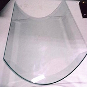 China 10mm clear hot bending glass,10mm bent glass for sale factory
