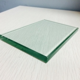 China 10mm clear tempered glass used for canopy factory