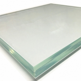 China 25.52mm 26.28mm 27.04mm 12+12mm flat and curved safety low iron clear SGP tempered laminated glass China manufacturer factory