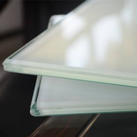 China 442 ESG VSG milky white tempered laminated glass 8.76mm China manufacturer factory